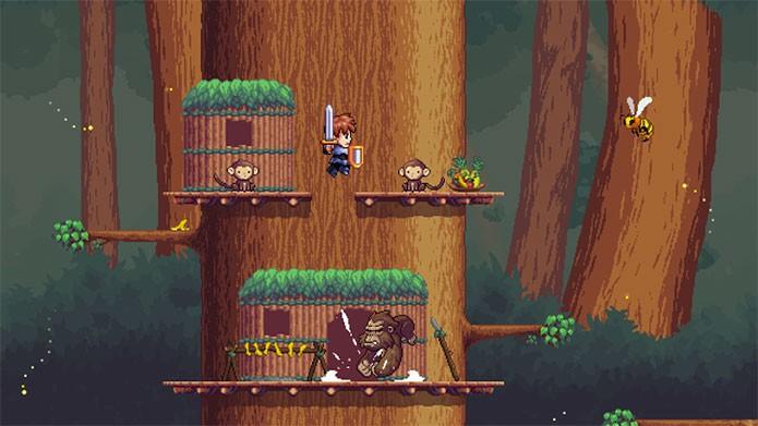 A Lenda do Herói traz mistura inusitada entre RPG, aventura e música (Foto: Divulgação)