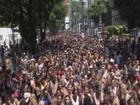 Bloco Ba-Bahianas leva mais de 80 mil pessoas às ruas de São Vicente