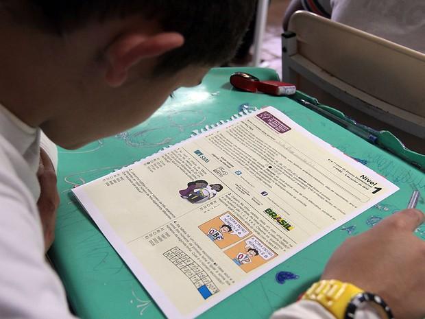 Olimpíada de Matemática em Macaé (Foto: Juranir Badaró/Divulgação)