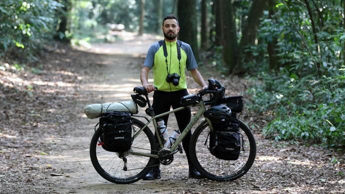 israel coifman bicicleta (Foto: arquivo pessoal)