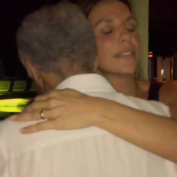Gilberto Gil e Ivete Sangalo (Foto: Reprodução/ Instagram)