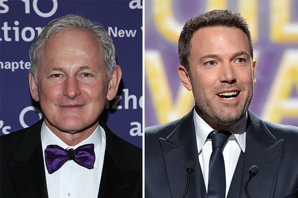 Victor Garber e Ben Affleck (Foto: Getty Images)