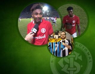 Pacotão Inter contra o Botafogo (Foto: Arte / GloboEsporte.com)