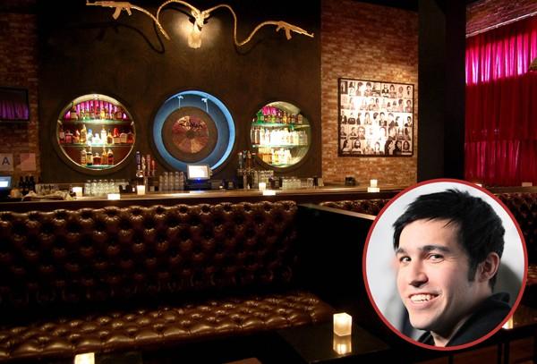 Pete Wentz, da banda Fall Out Boy, tinha duas unidades do bar Angels and Kings, mas o de Nova York fechou e hoje só o de Chicago permanece aberto (Foto: Getty Images / Divulgação)