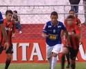 Caneta de jovem do Cruzeiro na Copinha é eleito o drible mais bonito