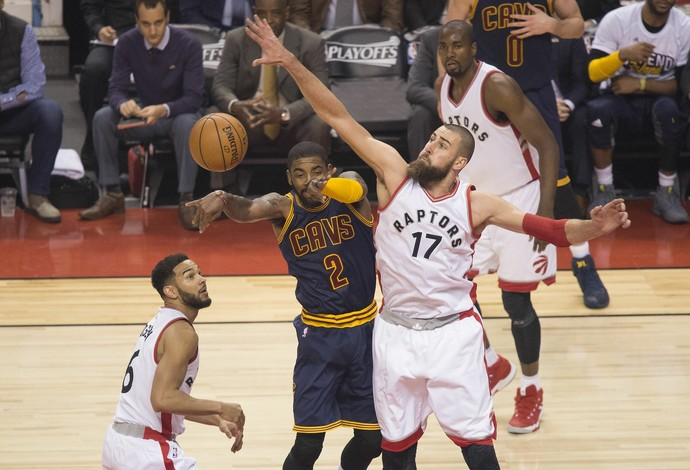 Cleveland x Raptors - jogo 4 - NBA - Canadá (Foto: Nick Turchiaro-USA TODAY Sports)