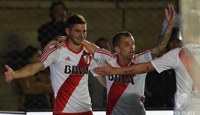 Alario comemora gol pelo River contra o Arsenal de Sarandí (Foto: Divulgação/River Plate)
