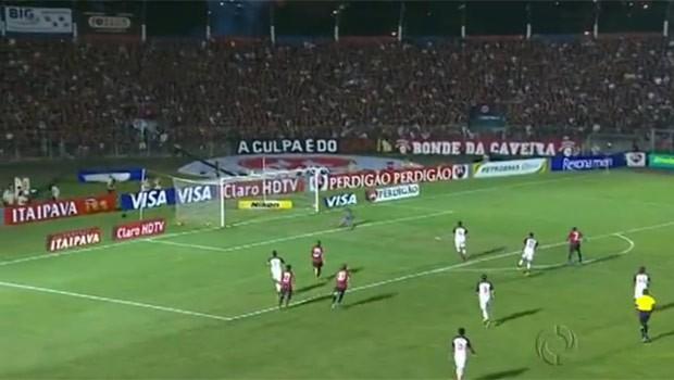 Atlético abriu o placar, mas cedeu o empate na final da Copa do Brasil (Foto: Reprodução)