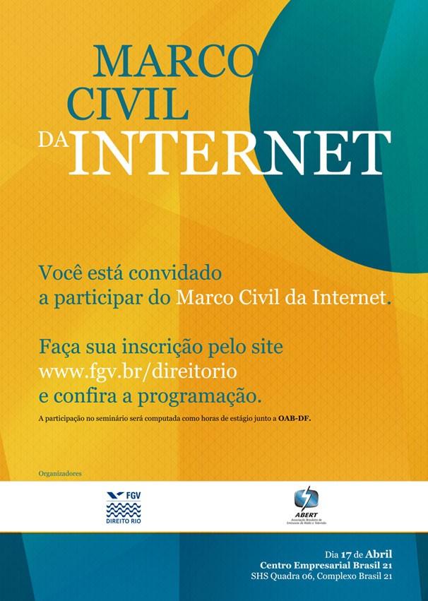 Marco Civil da Internet (Foto: Divulgação)