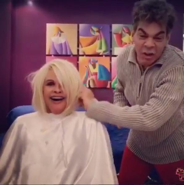 Monique Evans e Mauro Brettas (Foto: Reprodução/Instagram)