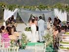 Casamento na praia? Inspire-se nas tendências da festa de Natália e Juliano