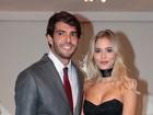 Kaká posa pela 1º vez com Caroline Dias, apontada como sua namorada