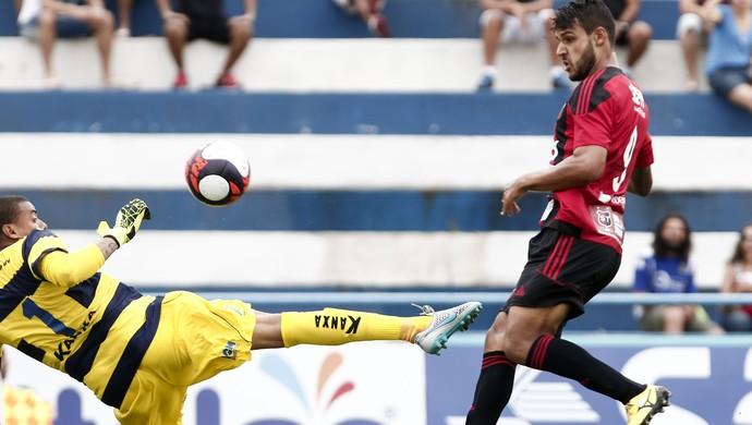 Santo André x Ituano Ronaldo gol (Foto: Miguel Schincariol / Ituano FC)
