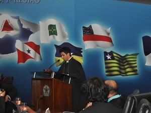 Pedro Felipe toma posse como juiz federal (Foto: Roberta Rocha)