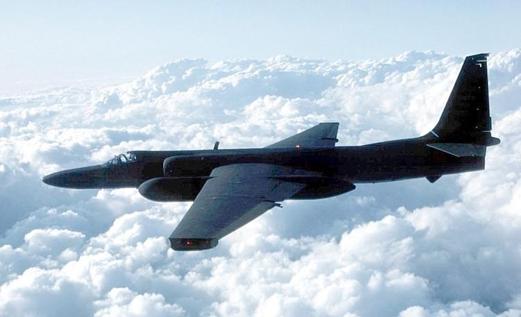 Um avião U2, fotografado em voo. (Foto: Wikimedia commons)