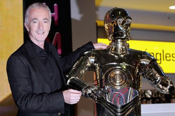 C-3PO / Anthony Daniels (Guerra nas Estrelas) (Foto: .)