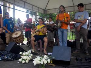 Músicos do Batalhão da Estrela garantem ritmo dos festejos. (Foto: Dah Passos/Divulgação)