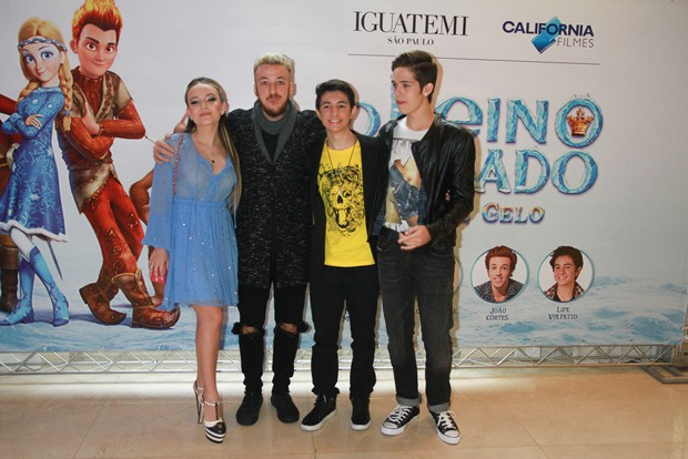 Elenco do filme (Foto: Brazil News)