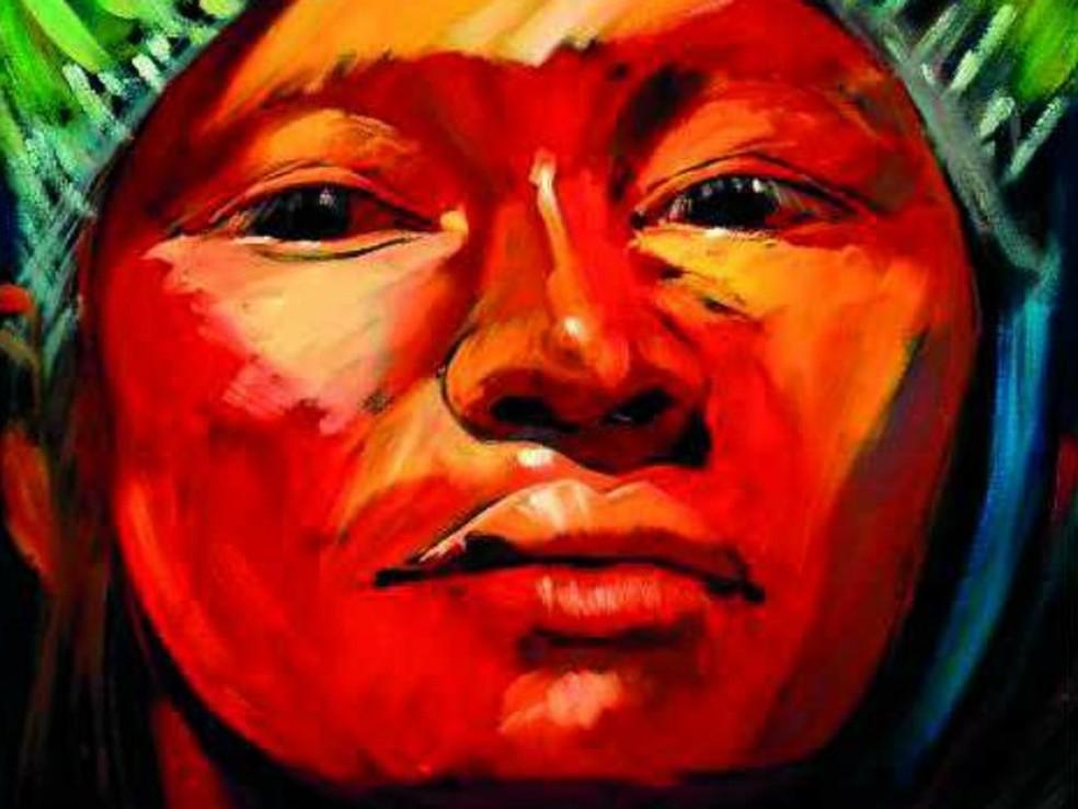 Exposição Alma Vermelha (Foto: Deuseni Félix)