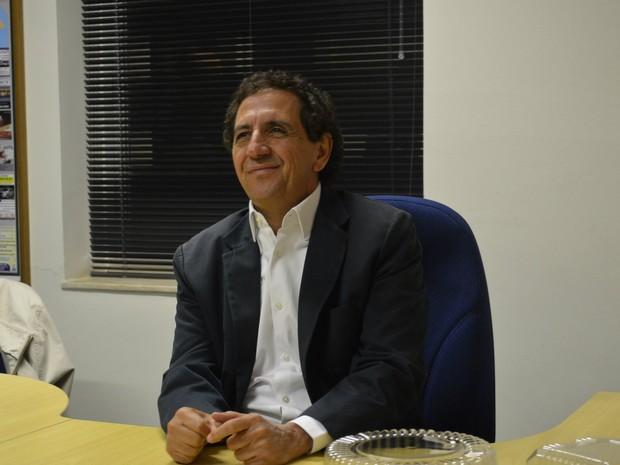 Gilson de Souza, candidato do DEM à Prefeitura  de Franca (SP) (Foto: Rodolfo Tiengo/G1)