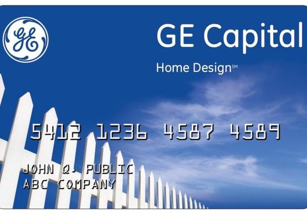 Cartão de crédito GE (Foto: Reprodução)