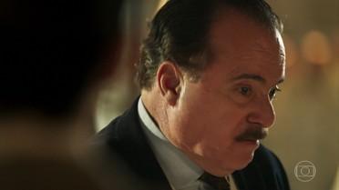 José Augusto fica furioso com Fernão e o expulsa da Quinta