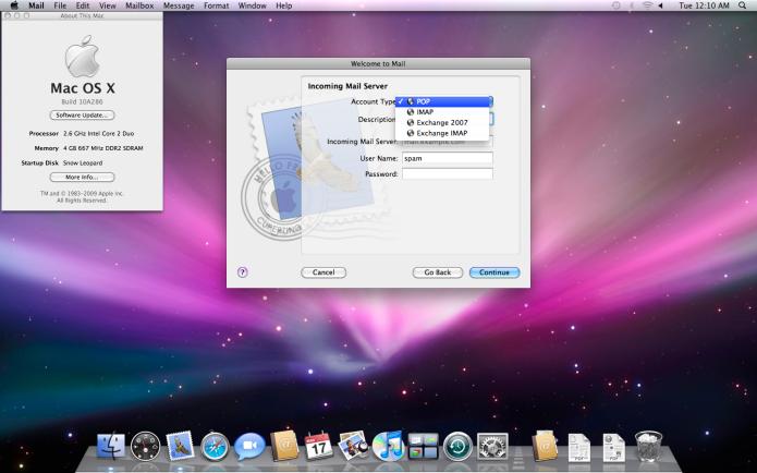 Mac OS X 10.6 Snow Leopard: o fim do suporte para processadores PowerPC (Foto: Divulgação/Apple)