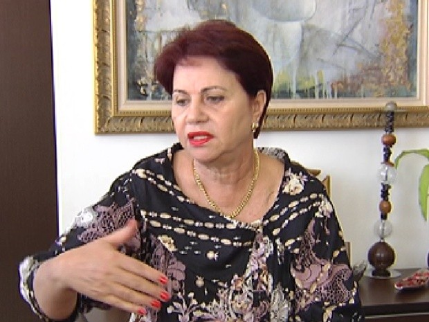 Candidata Maria Ivanete venceu em Guapiaçu, mas ainda não sabe se poderá assumir (Foto: Reprodução/TV Tem)