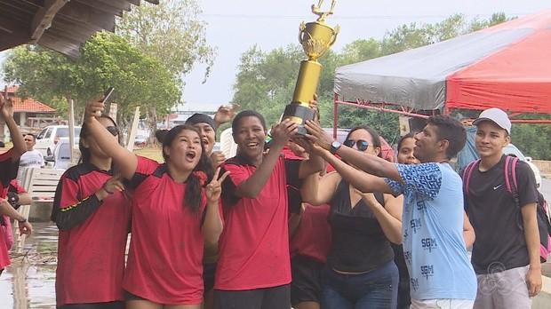 futlama, final, bom dia amazônia, amapá (Foto: Bom Dia Amazônia)