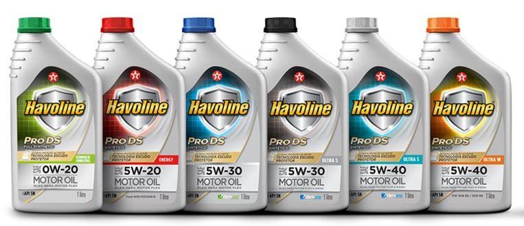 Linha Havoline para automóveis (Foto: Reprodução)