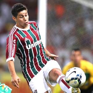 Conca, Fluminense X Chapecoense (Foto: Paulo Sergio / Photocamera)