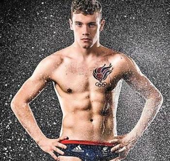 Josef Craig, nadador paralímpico da Grã-Bretanha (Foto: Reprodução / Facebook)