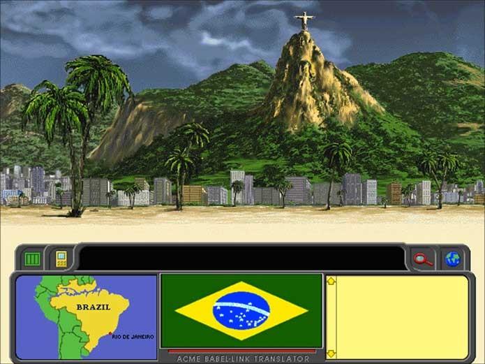 Carmen Sandiego sempre passou pelo Brasil (Foto: Reprodução/YouTube)