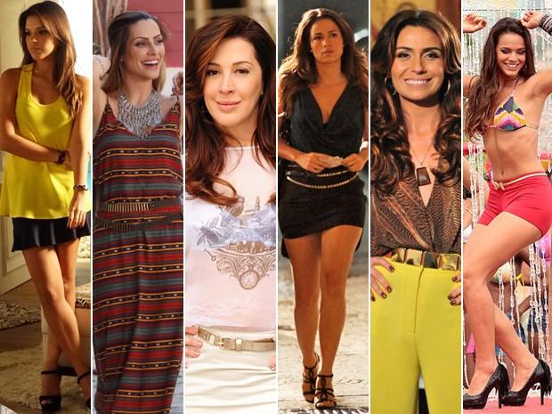 Escolha sua preferida! (Foto: Salve Jorge/ TV Globo)