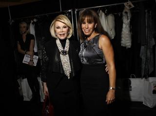 Joan Rivers e a filha, Melissa (Foto: Reuters)