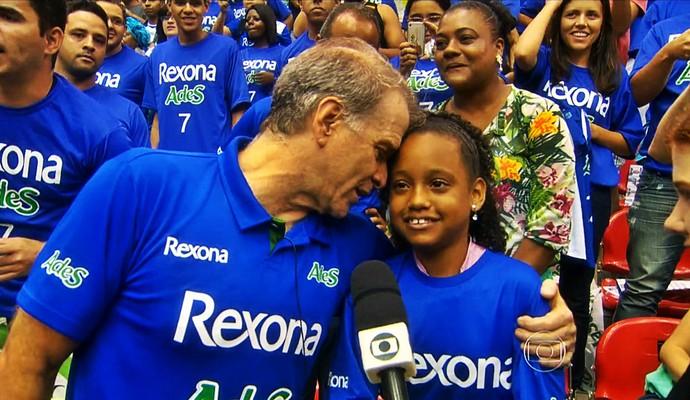 Bernardinho e Katilane (Foto: Reprodução TV Globo)
