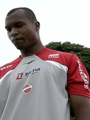 Rafael, zagueiro do Vila Nova (Foto: Reprodução/TV Anhanguera)