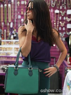Nanda vai exercitar sua sensualidade ao encarnar Tuane (Foto: Pedro Curi/TV Globo)