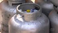Donos de depósitos de gás protestam contra aumento do botijão