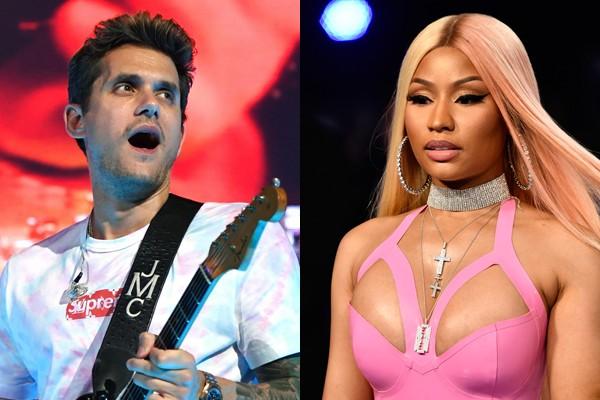 John Mayer e Nicki Minaj: tá rolando? (Foto: getty)