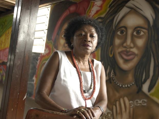 Zélia Amador, presidente do Cedenpa:  (Foto: Paula Sampaio/O Liberal)