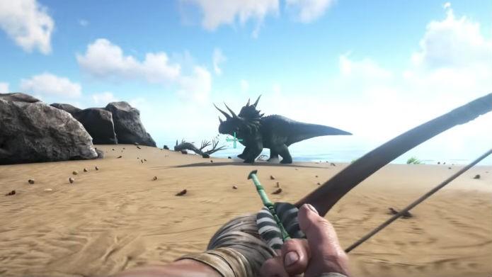 Flechas tranquilizantes são ótimos para derrubar os animais (Foto: Reprodução/Youtube)