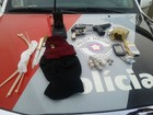 Polícia flagra morador com drogas e armas de fogo em Bauru
