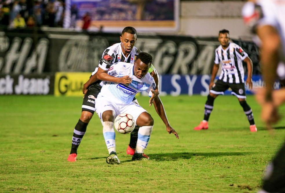 ASA e CSA fizeram um jogo equilibrado (Foto: Ailton Cruz/Gazeta de Alagoas)