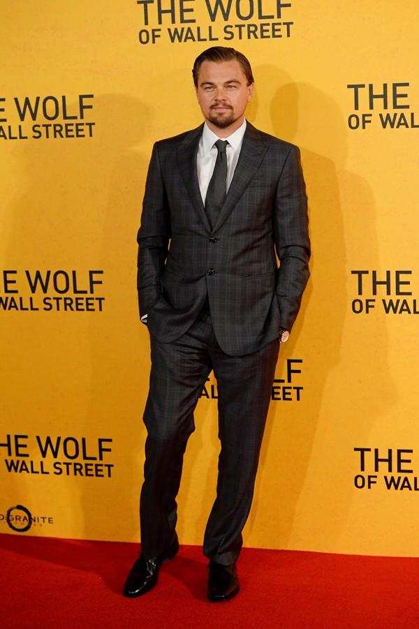 Foto da première de 'O Lobo de Wall Street' em Londres (Foto: Getty Images)