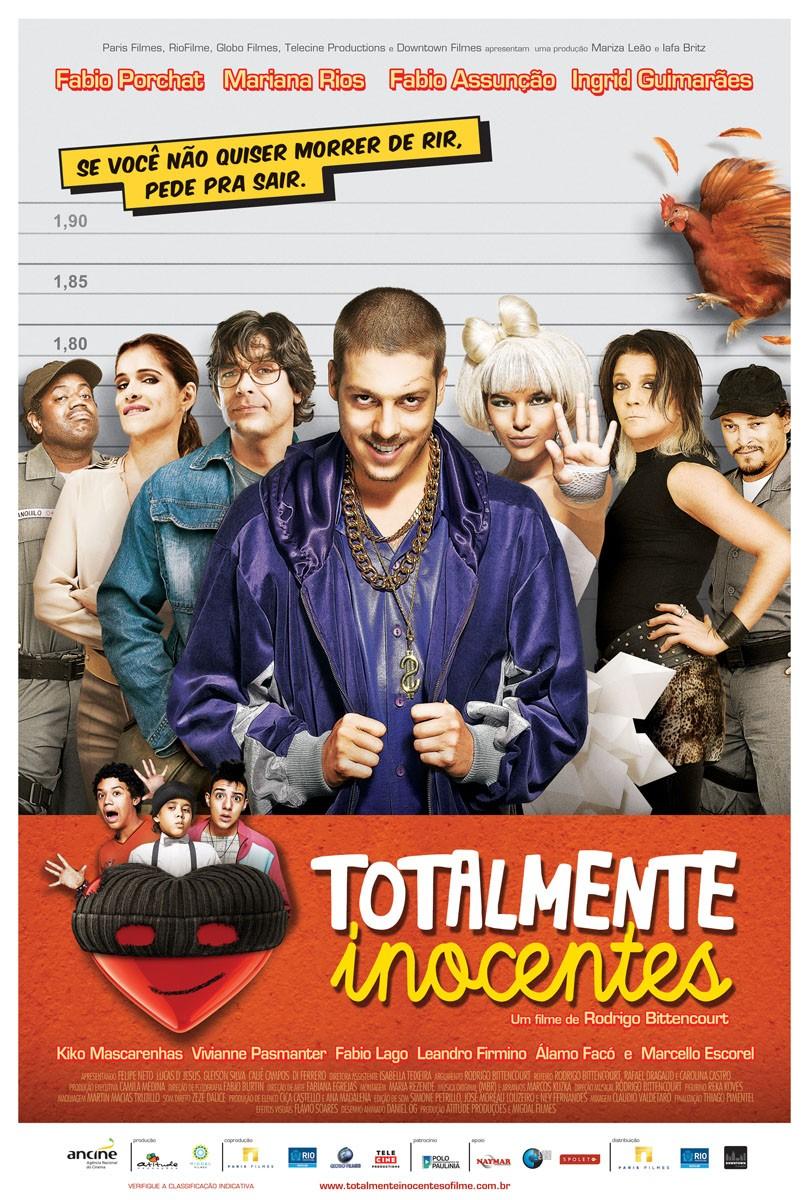 Cartaz do Filme Totalmente Inocentes (Foto: divulgação)