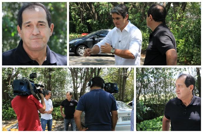Muricy em entrevista exclusiva para o Esporte Espetacular  (Foto: Sergio Gandolphi)