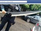 Polícia do Ceará confunde espada de 'cosplayer' com faca e apreende item