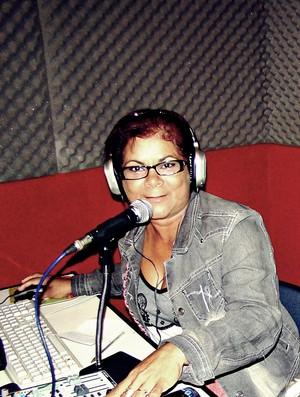 Abinoã Campelo, dona de casa e mãe dos jogadores do Plácido de Castro (Foto: Arquivo Pessoal)