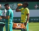Após cirurgia, Arouca faz fisioterapia no Palmeiras; Keno fica à disposição
